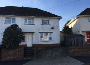 Thumbnail 3 bed semi-detached house for sale in Arnold Road, Cowes