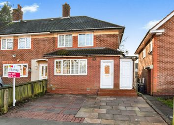 Thumbnail 3 bedroom end terrace house for sale in Swancote Road, Birmingham