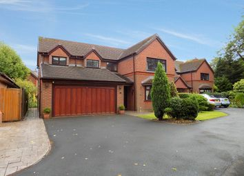 Thumbnail 4 bedroom detached house for sale in Mitton Close, Culcheth, Warrington