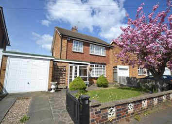 Thumbnail 3 bed detached house for sale in Skelton Drive, Leicester