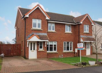 Thumbnail 3 bedroom semi-detached house for sale in Denny Crescent, Saltcoats