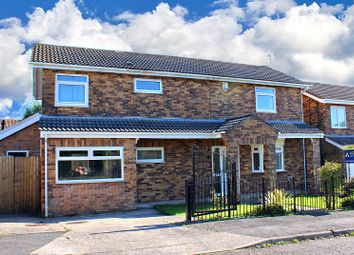 Thumbnail 4 bed detached house for sale in Crestacre Close, Newton, Swansea