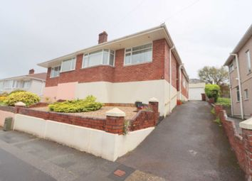 Thumbnail 2 bed semi-detached bungalow for sale in St Margarets Road, Plymouth
