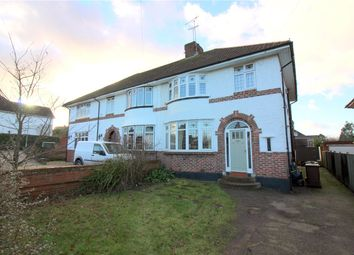 Thumbnail 3 bedroom semi-detached house for sale in Furzehill Road, Borehamwood, Hertfordshire