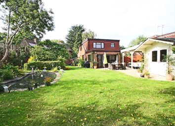 Thumbnail 4 bed detached house for sale in Chobham Close, Ottershaw, Surrey