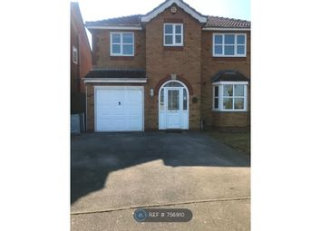 Thumbnail 4 bed detached house to rent in Barrowdaleway, Grantham