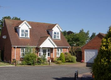 Thumbnail 3 bed detached house for sale in Canute Court, Ilex Close, Bury St. Edmunds