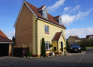 Thumbnail 5 bed detached house for sale in Chaffinch Road, Bury St. Edmunds