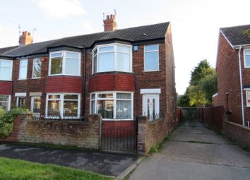 Thumbnail 3 bedroom end terrace house for sale in Burlington Road, Hull
