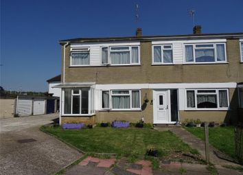Thumbnail 3 bed end terrace house for sale in Downlands Gardens, Worthing, West Sussex