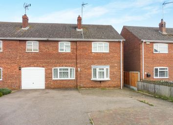 Thumbnail 3 bedroom semi-detached house for sale in Gaultree Square, Emneth, Wisbech