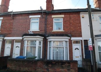Thumbnail 3 bed terraced house to rent in Cobwell Road, Retford