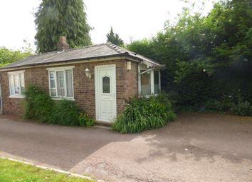 Thumbnail 1 bed bungalow to rent in The Cottage, 2 Stanneylands Rd, Ws