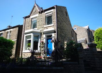 Thumbnail 4 bed detached house for sale in Slatelands Road, Glossop