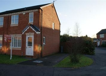 Thumbnail 3 bedroom semi-detached house to rent in Waterdale Grove, Weston Coyney, Stoke-On-Trent