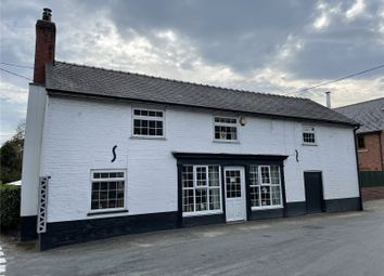 Thumbnail 3 bed detached house for sale in Trefeglwys, Caersws, Powys