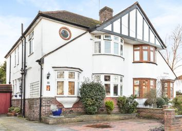 Thumbnail 4 bed semi-detached house for sale in Waverley Avenue TW2, Whitton,