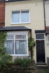 Thumbnail 2 bed terraced house to rent in Tiverton Road, Selly Oak, Birmingham