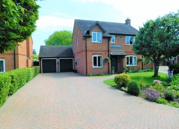 Thumbnail 4 bed detached house for sale in Swan Court, Church Eaton, Stafford