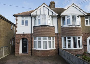 Thumbnail 3 bed semi-detached house for sale in Shalloak Road, Broad Oak, Canterbury