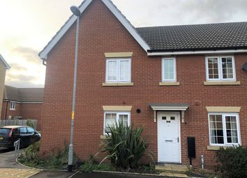 Thumbnail 3 bed town house to rent in Burrows Close, Grantham