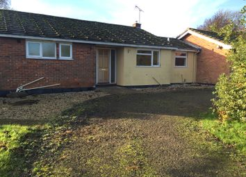 Thumbnail 3 bed detached bungalow to rent in Station Road, Newmarket
