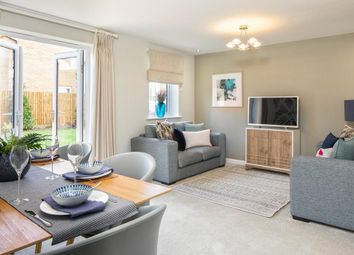 "Thumbnail 3 bedroom terraced house for sale in ""Hampton"" at The Ridge, London Road, Hampton Vale, Peterborough"
