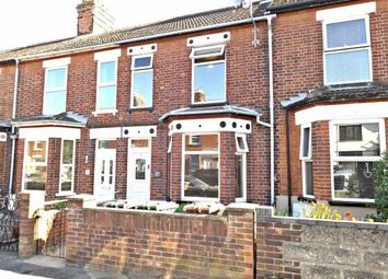 Thumbnail 2 bed terraced house for sale in Gorleston, Norfolk