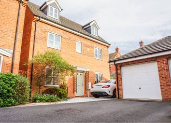 Thumbnail 4 bed detached house for sale in Darbyshire Close, Peterborough