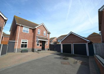 Thumbnail 4 bedroom detached house for sale in Pevensey Drive, Clacton-On-Sea