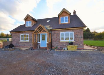 Thumbnail 3 bed detached house for sale in Plot1, Pave Lane, Chetwynd Aston, Newport
