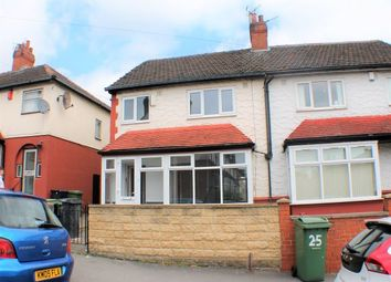 Thumbnail 4 bed semi-detached house to rent in Mayville Road, Hyde Park, Leeds