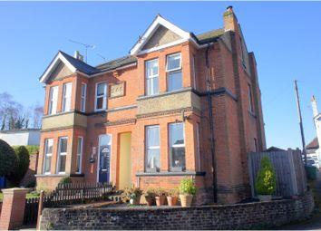 Thumbnail 4 bed semi-detached house for sale in Cargate Hill, Aldershot