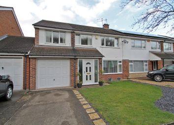 Thumbnail 4 bed semi-detached house for sale in Penarth Gardens, Mapperley/Sherwood, Nottingham