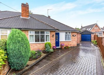 Thumbnail 2 bed semi-detached bungalow for sale in Linford Road, Loughborough