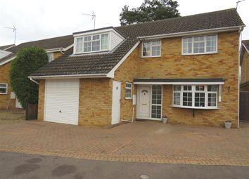 Thumbnail 4 bed detached house for sale in Kesteven Close, Deeping St. James, Peterborough