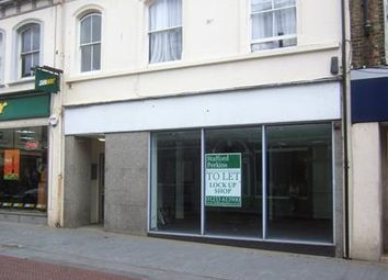 Thumbnail Retail premises to let in 21 Bank Street, Ashford