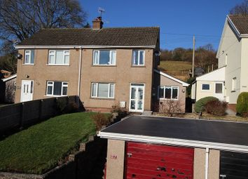 Thumbnail 3 bed semi-detached house for sale in Pen Y Bryn, Brecon