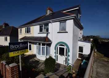 Thumbnail 4 bed semi-detached house for sale in Redburn Road, Paignton, Devon