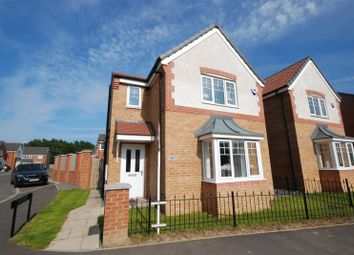 Thumbnail 3 bed detached house for sale in Rothbury Drive, Ashington