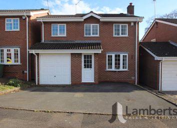 3 bed detached house for sale in Cranham Close, Redditch B97