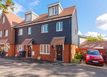 Skylark Rise, Goring-By-Sea, Worthing BN12. 3 bed end terrace house for sale