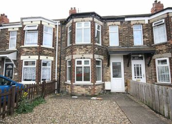 Thumbnail 2 bed terraced house to rent in Brooklands Road, Hull