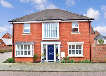 Thumbnail 4 bed detached house for sale in Vincent Drive, Kings Hill, West Malling, Kent