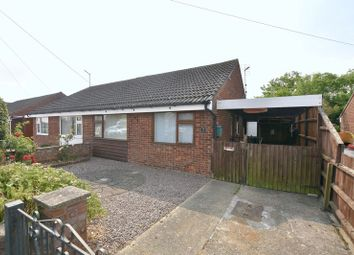 Thumbnail 2 bed semi-detached bungalow for sale in Keble Close, Stamford