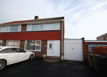 Thumbnail 3 bed semi-detached house for sale in Fairway, Choppington