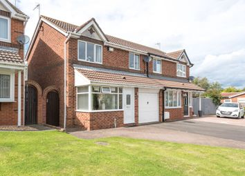 Thumbnail 3 bed semi-detached house for sale in Cheviot Court, Seaham