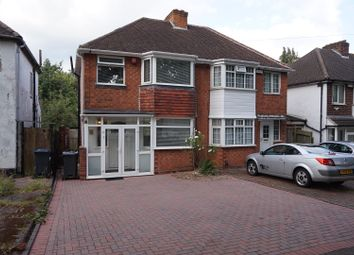Thumbnail 3 bed semi-detached house for sale in Fowlmere Road, Great Barr, Birmingham