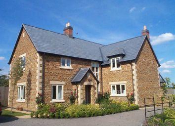 Thumbnail 4 bed detached house to rent in West Farm, Whissendine, Oakham