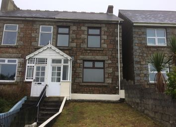 Thumbnail 3 bed semi-detached house to rent in Cadogan Road, Camborne